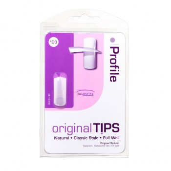 Profile Nail Tips - 100 Assorted