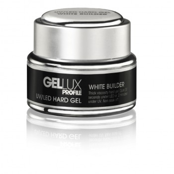 Gellux UV/LED Hard Gel White Builder 15ml