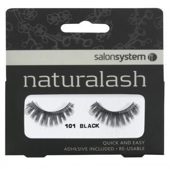 Salon System Naturalash Strip Lashes - 101 Black