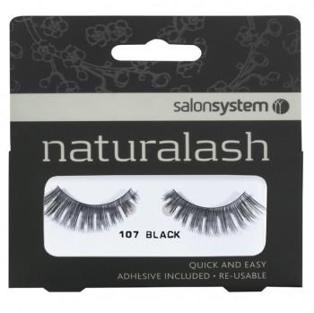 Salon System Naturalash Strip Lashes - 107 Black