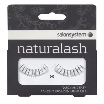 Salon System Naturalash Strip Lashes - 040 Black