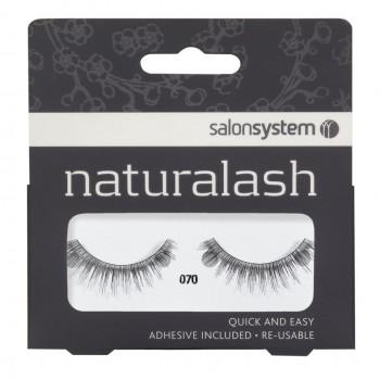 Salon System Naturalash Strip Lashes - 070 Black