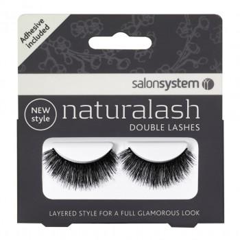 Salon System Naturalash Double Lash- 202 Black
