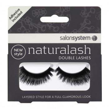 Salon System Naturalash Double Lash- 204 Black