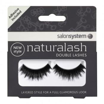 Salon System Naturalash Double Lash- 205 Black