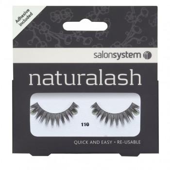 Salon System Naturalash Strip Lashes - 110 Black