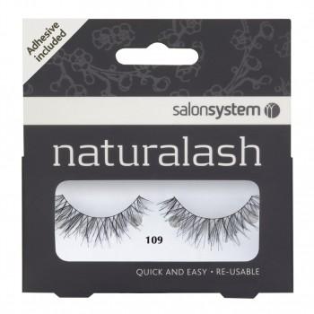 Salon System Naturalash Strip Lashes - 109 Black