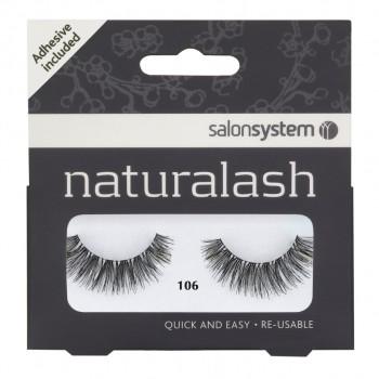 Salon System Naturalash Strip Lashes - 106 Black