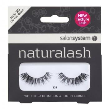 Salon System Naturalash Strip Lashes - 132 Black