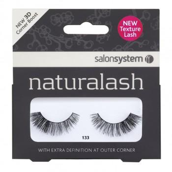 Salon System Naturalash Strip Lashes - 133 Black