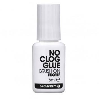No Clog Brush-on Nail Glue 6ml