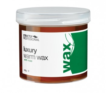 Luxury Warm Wax With Rose