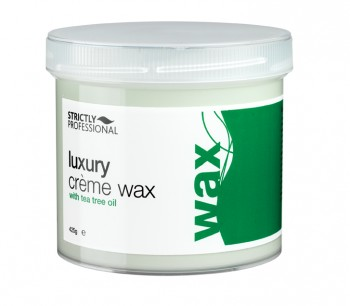 Luxury Creme Wax With Tea Tree